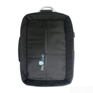 Procoat Anti-theft Fabric Water Resistant USB Charging Port Laptop Bag