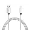 Stainless Steel Spring Micro USB Fast Charging Cable
