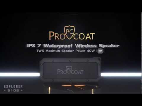 ProCoat Bluetooth Wireless Speaker S108-191