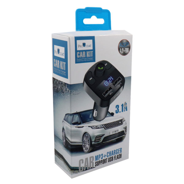 ProCoat Car MP3 + Charger support USB Flash M29-282
