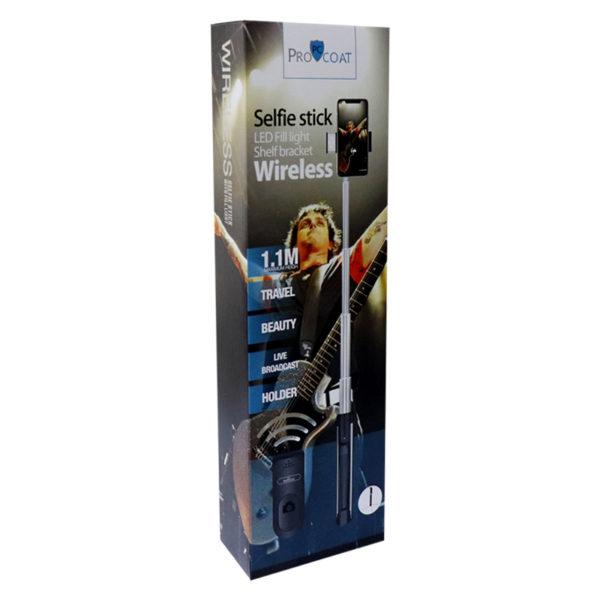 Procoat Wireless Selfie Stick-309