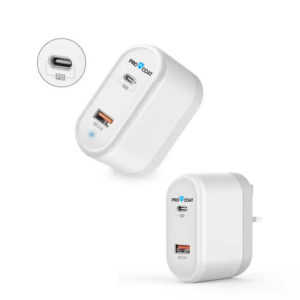 ProCoat PD Type C+ Usb 3.0 Iphone Home Charger-0