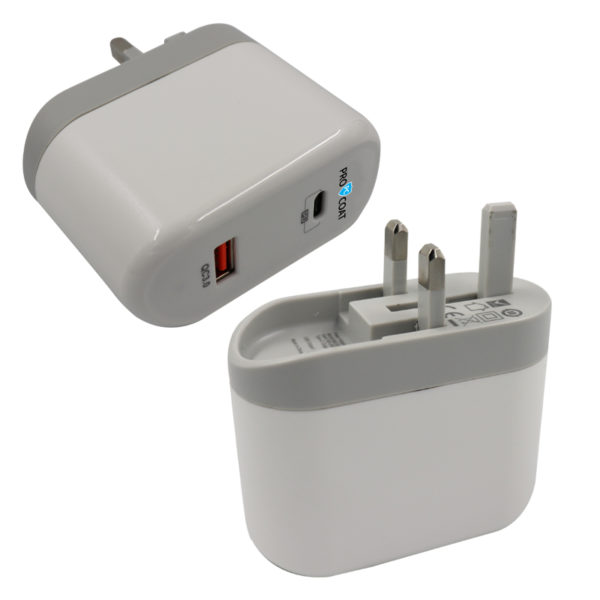 ProCoat PD Type C+ Usb 3.0 Iphone Home Charger-340