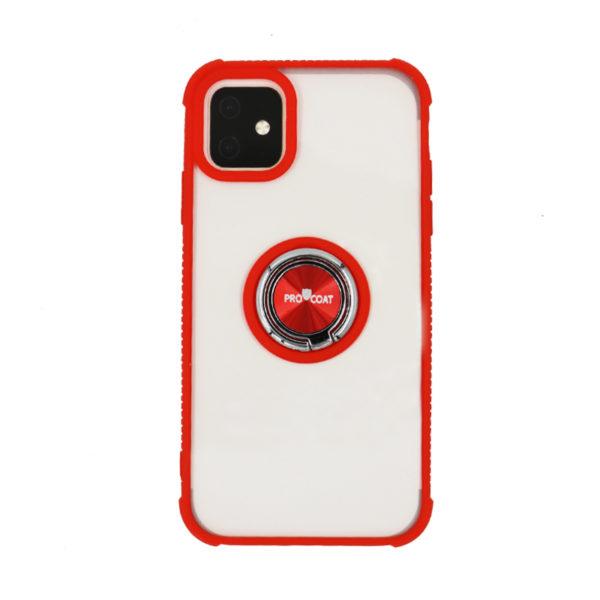ProCoat Apple Iphone 11 Pro Ring Hard Silicon CASE -0