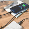 PROCOAT CHARGING CABLE MFI IPHONE PRO 01 ORG-420