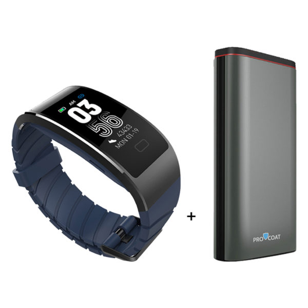 Procoat H3 Smart Band + 3.0 10000mah Powerbank-0